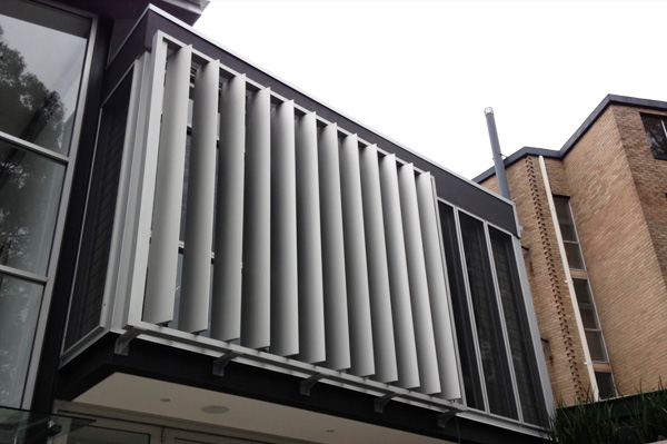 Ecternal louvres from Dove Industry - Maxim mf200